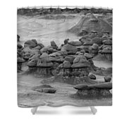 Goblin Valley 0225 Shower Curtain