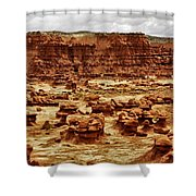 Goblin Valley Shower Curtain