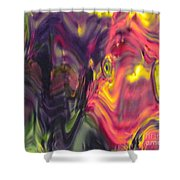 Trickster Goblins Of Our Minds Shower Curtain