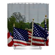 God And Country Shower Curtain