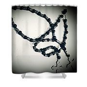God Bead With Me Shower Curtain