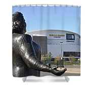 God Bless The Flyers - Kate Smith Shower Curtain