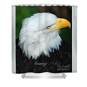 God Country Family Shower Curtain