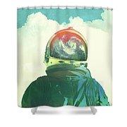 God Is An Astronaut Shower Curtain