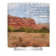 God Of Hope Shower Curtain