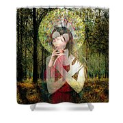 God Of Love, Beautiful Santhia Shower Curtain