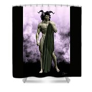 God Of The Underworld Shower Curtain