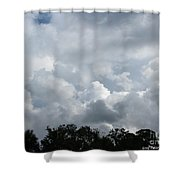 God Scent Shower Curtain