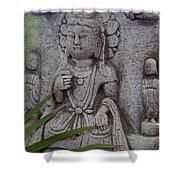 God Shiva Shower Curtain by Susanne Van Hulst