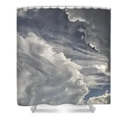 God Speaks Shower Curtain