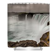 Godafoss Shower Curtain