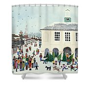 Godalming    Surrey Shower Curtain