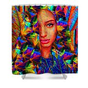 Goddess 243 Shower Curtain