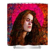 Goddess 528 Shower Curtain