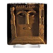 Goddess Hayyan Idol From The Temple Shower Curtain
