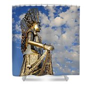 Goddess Isthmus Shower Curtain