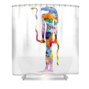 Goddess Of Ancient Egypt Shower Curtain