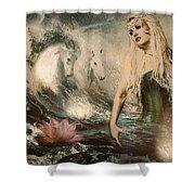 Goddess Of Bliss  Shower Curtain