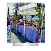 Goddess Of Garlic 1 Shower Curtain