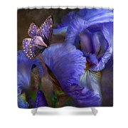 Goddess Of Mystery Shower Curtain by Carol Cavalaris