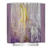 Goddess Of Nature Shower Curtain