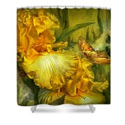 Goddess Of Summer Shower Curtain