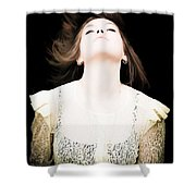 Goddess Of The Moon Shower Curtain