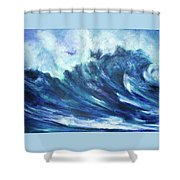 Goddess Of The Waves Shower Curtain