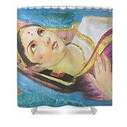 Goddess Radha Shower Curtain