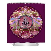 Goddess Tara Mandala Shower Curtain