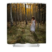 Goddess Walk Shower Curtain