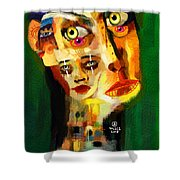 Goddess With Many Faces 671 Shower Curtain