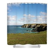 Godrevy To St Agnes, The North Cornwall Coastline Shower Curtain
