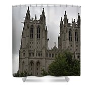 God's House Shower Curtain