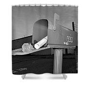 God's Mailbox Shower Curtain