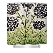 God's Only Me Wildflower  Shower Curtain