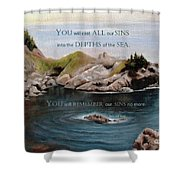 God's Promises To Us Shower Curtain