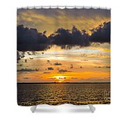 God's Signature Shower Curtain