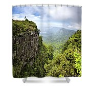 God's Window And The Blyde River Canyon Shower Curtain