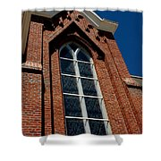 Gods Window St. Mary's In The Mountains Catholic Church Shower Curtain
