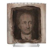 Goethe Shower Curtain