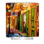 Going Back To New Orleans Shower Curtain