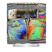 Going Cruising Shower Curtain