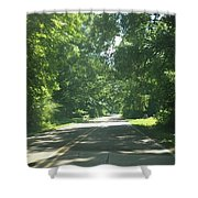 Going For A Ride Shower Curtain