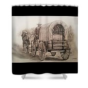 Going Shopping Shower Curtain