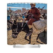 Going To The Rissani Market Shower Curtain