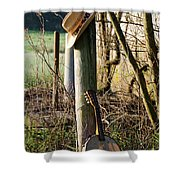 Going To The Country Shower Curtain