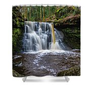 Goit Stock Waterfall Shower Curtain