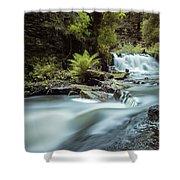 Goitstock Mill Waterfall  Shower Curtain