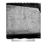 Goku Dbz Shower Curtain